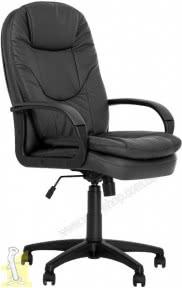 Крісло керівника  BONN  KD BLACK TILT PL64  ECO-30