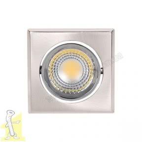 Оправа LED 3W 230V HL678L 6500К inox
