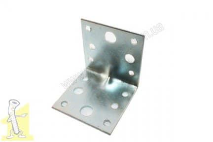 Кутник металевий 55х55х55 оцинкований