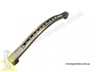 Ручка меблева 8517 L-96мм старе золото