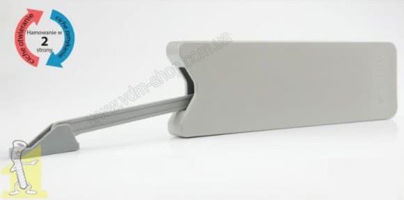 Механізм Airtic OPEN Сірий R/L для обмеження ходу барних дверок