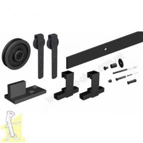 THOR комплект фурнітури на 1 двері, Roc Design, чорний матовий 219-231