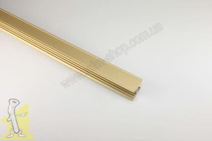 Профіль Sevroll H10 Decor золотий 3,00м   01618-T