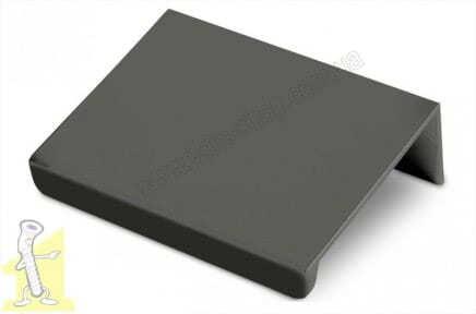 Ручка меблева GTV HEXI 32х50 чорна UA-HEXI-20M