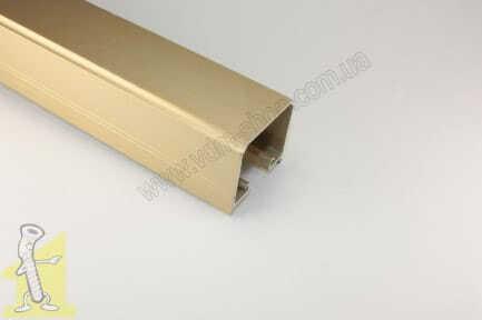 Направляюча верхня  Sevroll Ursus-Decor золота 1,80 м.  01172-T