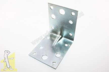 Кутник металевий 70х70х55 оцинкований