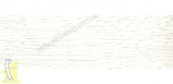 Крайка меламінова меблева з клеєм Zbytex 40мм Дуб Вілтон Білий № 276
