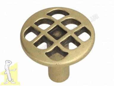 Ручка меблева GAMET GR46-G0035 золото античе