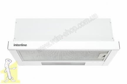 Кухонна витяжка INTERLINE SLIM 60 біла (650) WH A/60/2/T