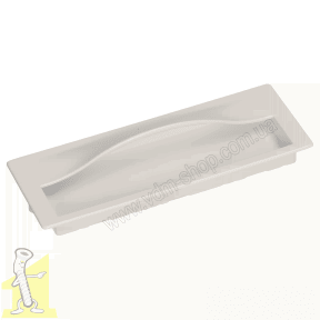 Ручка меблева GAMET MD15-0128-LPM40 врізна біла