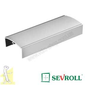 С-профиль Sevroll 36 декор серебро 3,00м 02290