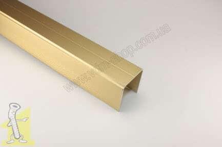 Направляюча верхня Sevroll SINGLE золота 2,35 м. 01259-T