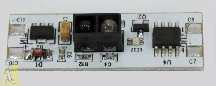 Сенсорний вимикач для LED профіля інфрачервоний