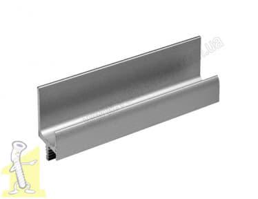 Профіль ручка Sevroll 007 срібло-3,00м