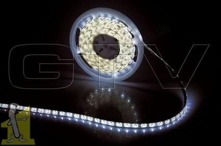 Стрiчка  LED  GTV 2835 30W 300 діодів 12V 5м світло холодне біле, LD-2835-300-20-ZB