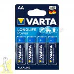 Батарейка VARTA LONGLIFE Power AA блістер 4 шт. ALKALINE